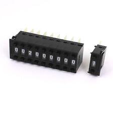 10pcs x One Unit Decimal 0-9 Digital Pushwheel Switch Encoder Thumbwheel KSA-2