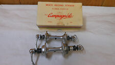 Campagnolo Record Hubs with Campagnolo Skewers 80s  32 Hole 126mm rear with box