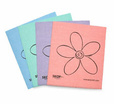 Skoy Cleaning Cloth Set Of 4 Eco Friendly Paper Towel Replacement Cloths 4362