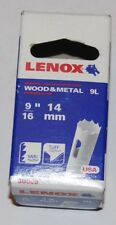 Lenox holesaw 14mm wood & metal