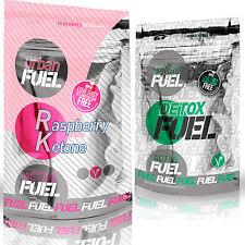 Urban Fuel Active Raspberry Ketone Fat Burners Detox Fuel Bundle 90 Capsules
