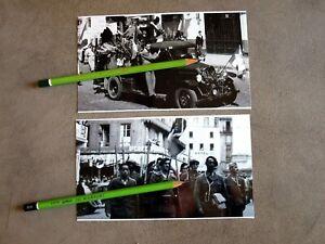 LOT  PHOTOS  11.5X18 CLERMONT FERRAND LIBEREE 1944 PUY DE DOME 63 REPRODUCTIONS