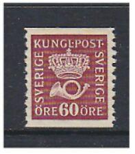 Sweden - 1926, 60 ore Bright Purple (No Wmk) - L/M - SG 108Aa
