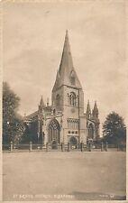 POSTCARD   SLEAFORD   St  Deny's  Church