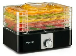 Emperial Food Dehydrator Drying Machine Fruit Beef Jerky Preserver 5 Trays