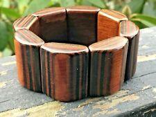 Wood Stretch Bracelet