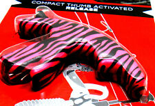 YOUTH GIRLS LADIES HOT PINK CAMO COMPACT R/L HAND ARCHERY COMPOUND BOW RELEASE