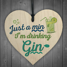 Drinking Gin Sign Plaque & Tonic BAR Pub BBQ Party Alcohol Novelty Fun Gifts