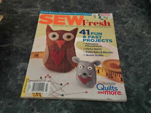 Sew Fresh Magazine January 2012 Touch and Toss