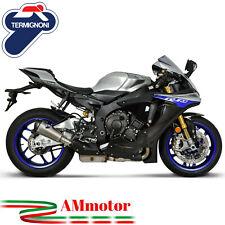 Exhaust Yamaha Yzf 1000 R1 2015 Termignoni Motorcycle Slip-On Relevance Titanium