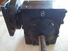 PAPER CONVERTING MACHINERY CO. GEAR REDUCER RATIO 15:1  /  USED?  NEW OTHER?
