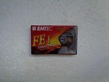 Vintage Audio Cassette EMTEC FE I 90 * Rare From 1995 *