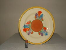 Dinner Plates Art Deco British Clarice Cliff Pottery