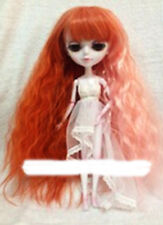 PULLIP & TANGKOU Long degraded Orange Wavy WIG (MELENA PELUCA CUSTOM). BRAND NEW