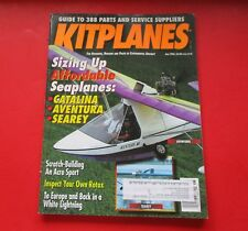 KITPLANES MAGAZINE JUNE/1996...GUIDE TO 388 PARTS AND SERVICE SUPPLIERS