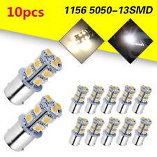 20Pcs White 1156 13-SMD RV Camper Trailer LED Interior Light Bulbs 1141 12V #07