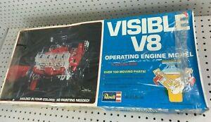 Vintage REVELL Visible V8 Operating Engine 1/4 Model Kit H-902 - NEW - SEALED