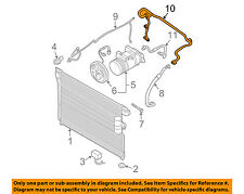 NISSAN OEM 05-15 Frontier AC A/C Air Conditioner-Suction Line 92450EA200