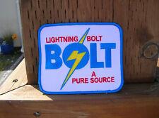 large lightning bolt jacket patch surfboard surfing surfer surf Gerry Lopez team