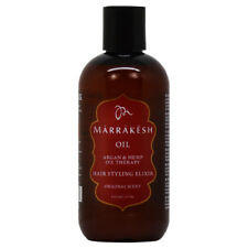 Marrakesh Oil Hair Styling Elixir Original Scent 8oz w/Free Nail File