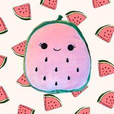"Kellytoy Squishmallow Fruit Squad Wanda Watermelon 8"" Stuffed Toy Plush NEW"