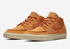 Nike SB Stefan Janoski Mid Crafted - Sz UK 8 / EU 42.5 - AQ7460-007 - Orange