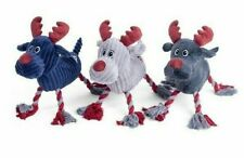 Christmas Reindeer Dog Toy by Petface, Squeaker, Fun Festive Gift, Large & Small