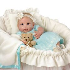 You Are So Beautiful Baby Doll with Basket by Ashton Drake