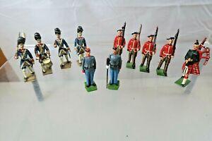 Vintage Britains Ltd. Lead Soldiers - Lot of 11 Vintage Lead Soldiers  - Lot F