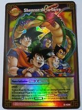 Carte Dragon Ball Z DBZ Cartes à Jouer et à Collectionner #D-424 Holo BANDAI