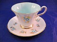 VINTAGE TUSCAN TEA CUP AND SAUCER - FINE BONE CHINA - ENGLAND
