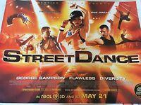 Street Dance Original Uk Quad Poster