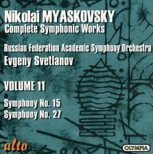 Evgeny Svetlanov - Symphonies 15 [New CD]