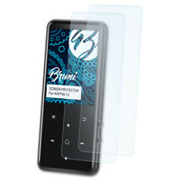Bruni 2x Folie für AGPTek C2 Schutzfolie Displayschutzfolie