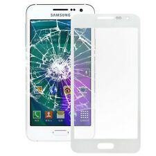 Front vidrio Samsung a3 pantalla vidrio LCD de sustitución cristal touch screen herramienta