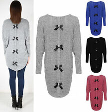 Scoop Neck Thin Knit Long Jumpers & Cardigans for Women