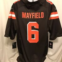 Nike Baker Mayfield Cleveland Browns On-Field Jersey Mens Sz XXL Brown NWT