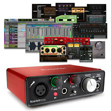 Focusrite Scarlett Solo (2nd Gen) USB 2.0 Audio Interface + Pro Tools & Ableton
