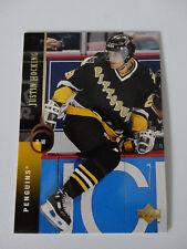1994-95 Upper Deck #190 Markus Naslund Penguins Hockey Error Wrong Name Card