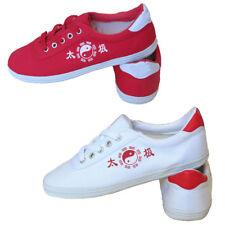 Adult Kid Trainers Taekwondo Shoes Unisex Flats Kung Fu Tai Chi Martial Art