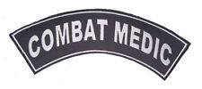 COMBAT MEDIC PATCH ROCKER FOR BIKER VETERAN VEST JACKET NEW
