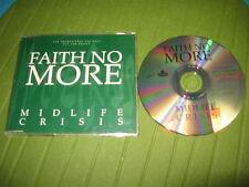 CD SINGLE FAITH NO MORE - MIDLIFE CRISIS - PROMO