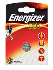 2 x Energizer  Batterie CR1616 Lithium 3V CR 1616 Knopfzelle Battery NEW