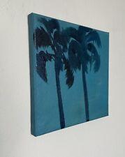 Shane Townley art painting originalCONTEMPORARY oil IMPRESSIONISM Palmtree Beach