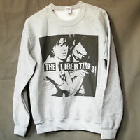 THE LIBERTINES INDIE PUNK ROCK JUMPER babyshambles GREY sweatshirt S-3XL 00ad7c6267ac