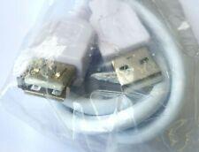 Restposten 7X USB Extender Weiß 1.5m Typ A Stecker zu Buchse