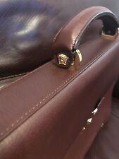 Genuine Vintage Gianni Versace Medusa Leather Briefcase