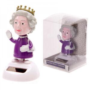 Die Queen - Wackelfigur Solarfigur tanzende Solar Figur