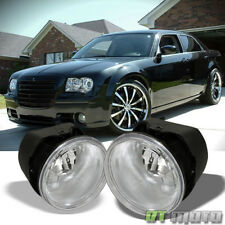 2005-2010 Chrysler 300 C/08-09 Caliber SRT-4 Bumper Fog Lights Driving Lamps Set