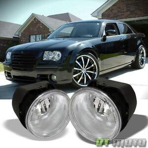 2005-2010 Chrysler 300 C/08-09 Caliber SRT-4 Bumper Fog Lights Driving Lamps Set